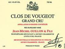 Guillon Vougeot Label