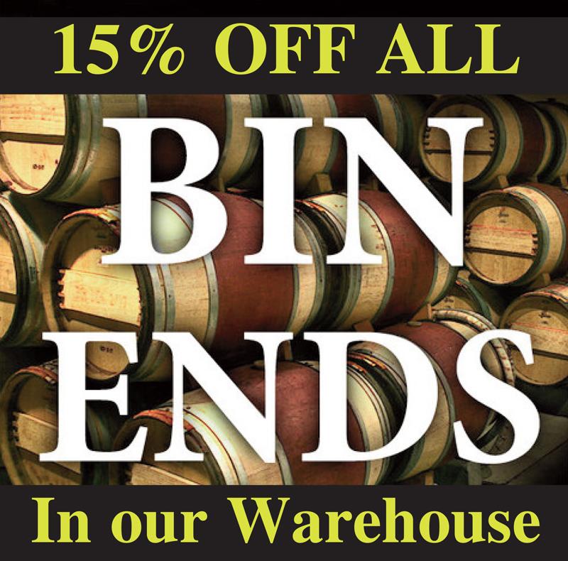 Bin Ends 15%