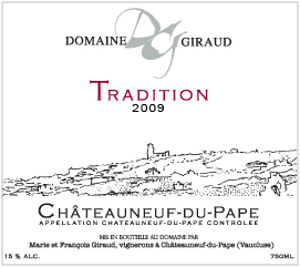 Giraud Tradition 2009 Label