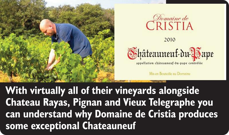 Cristia 2010 Chateauneuf