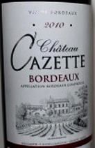 Bordeaux Cazette Label 2