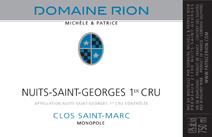 Rion NSG Clos ST Marc