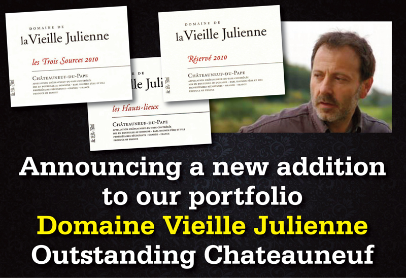 Vieilles Julienne announcing header