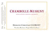 Clerget Chambolle Label