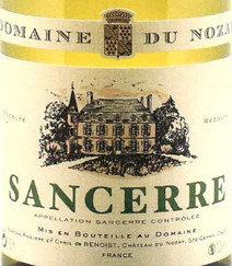 Nozay Sancerre Label