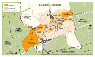 CHambolle-Musigny Map
