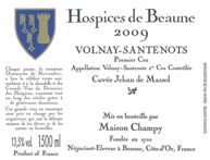 Hospices Volnay Label