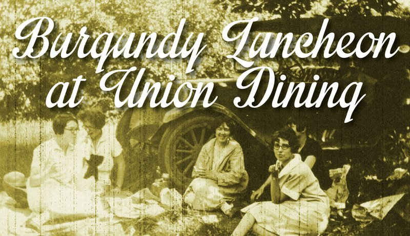 Union Dining Burgundy Luncheon