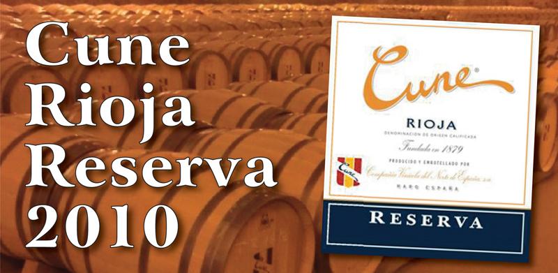 Cune Rioja Header