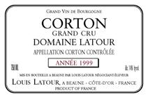 Domaine Latour Corton Label 1999
