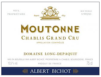 Loing-Depaquit Moutonne Label