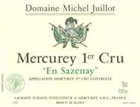 Juillot Sazenay Blanc label