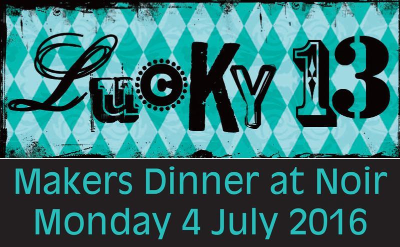 Lucky 13 Dinner Header