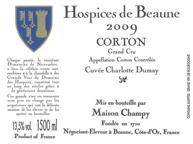 Hospices Corton Label