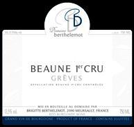 Berthelemot Greves NV Label