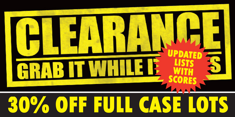 Clearance 30% Updated