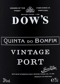 Dow Bomfin Label