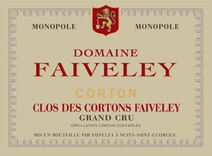 Faiveley Corton Label