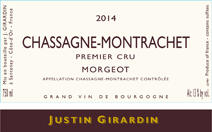 Girardin Morgeots Label