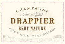 Drappier Brut Nature Label