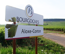 Aloxe-Corton sign