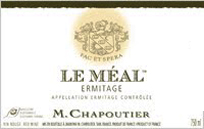 Chapoutier Meal Label