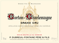 Dubreuil-Fontaine Corton-Charlemagne Label