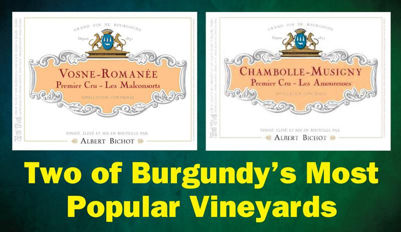 Two Burgundy's Most Popular Vineyards