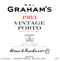 Graham's 1983 Label