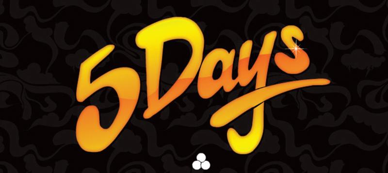 5 Days Header