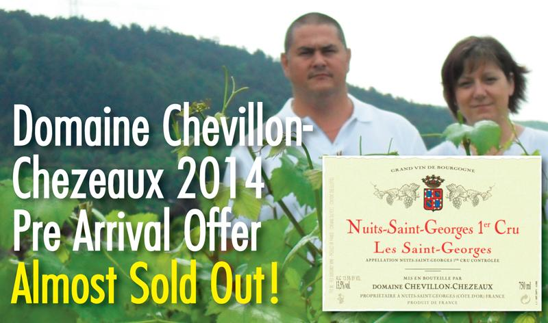 Chevillon-Chezeaux 2014 PA Sold Header
