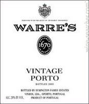 Warre's Label