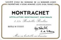 Drc Montrachet Label