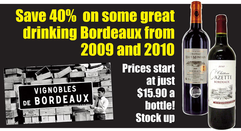 Cheap Bordeaux 40% Header