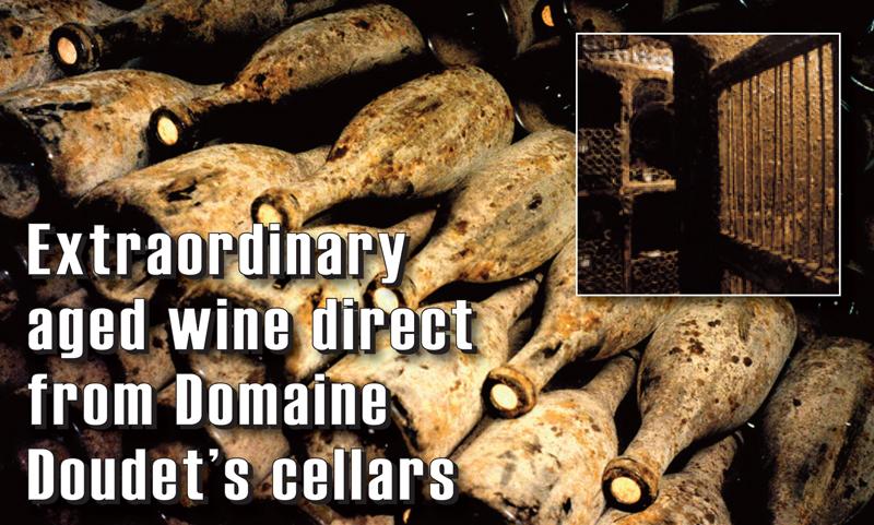 Doudet Aged Wine Header