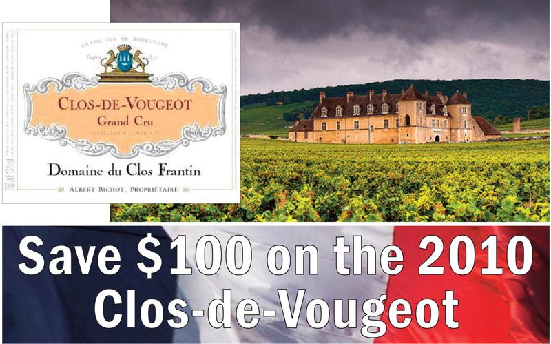Frantin Clos Vougeot 2010