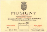 De Vogue Musigny Label