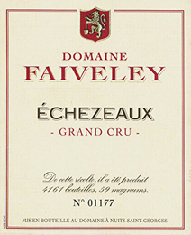 Faiveley Echezeaux nv label