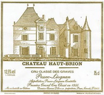 Haut-brion Label