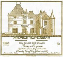 Haut-brion Label