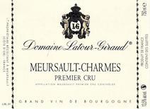 Latour-Giraud Charmes Label