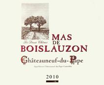 Boislauzon Chateauneuf Label