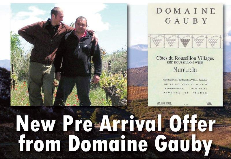 Gauby 2012 releases header