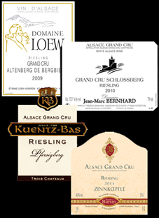 Alsace GC 4 Labels