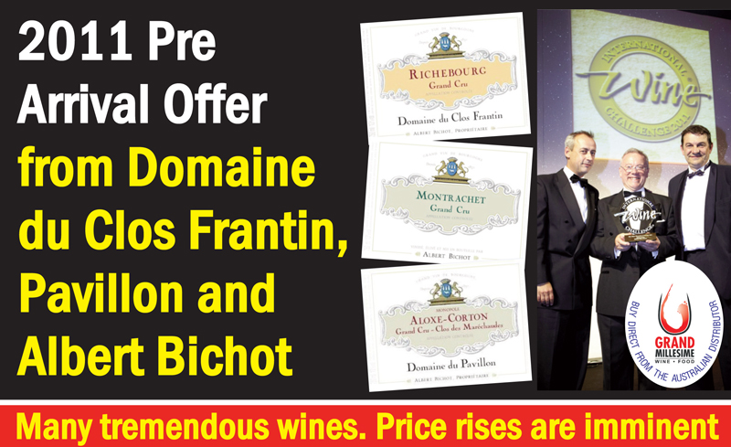 Bichot 2011 Price Rise Header