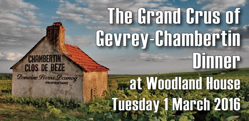 Gevrey Grand Cru Dinner Header