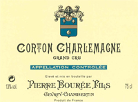 Bouree Corton-Charlamgne Label