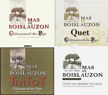 Boislauzon 4 Wines
