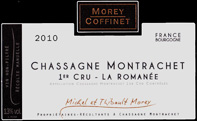 Morey-Coffinet ROmanee Label Black