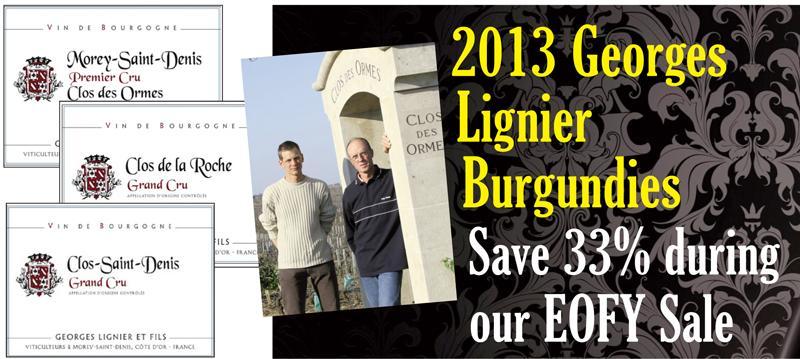 Lignier 2013 EOFY Header